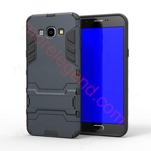 图片 2 In 1 Armor Case With Stand For Samsung A8