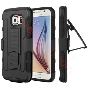 Picture of For Samsung Future Armor Hybrid Case Military 3 in 1 Combo Cover Stand Case Triple Full Capa coque