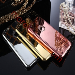Picture of iPhone Series Ultra Slim 360 Degree Full Body Electroplating Mirror Case Shockproof Hard Case